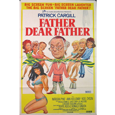 1973 Father Dear Father Film Poster