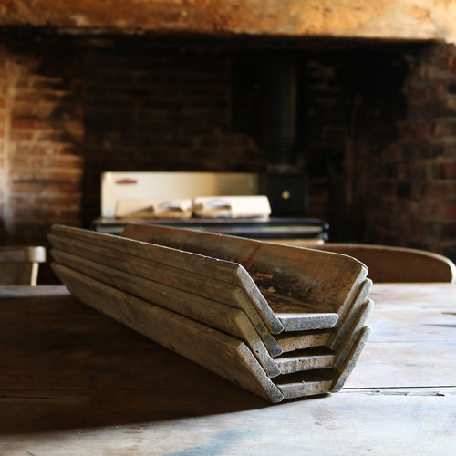 French Vintage Rustic Baguette Tray