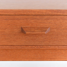 Load image into Gallery viewer, Vintage Small Single Bedside Table with Formica Lined Drawer