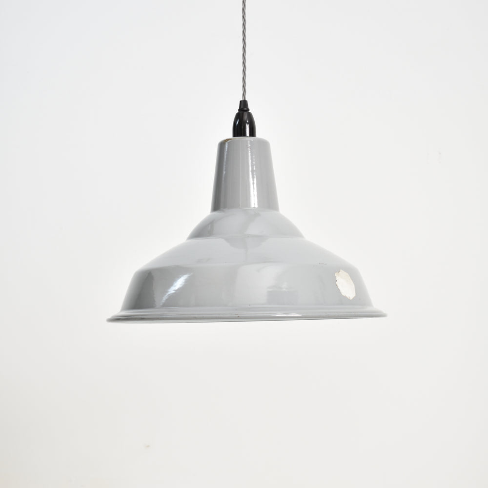 Benjamin Industrial Pendant Light Shade Grey-15