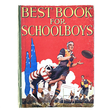 Vintage Scout & Guides Book - Best Book for Schoolboys 1947