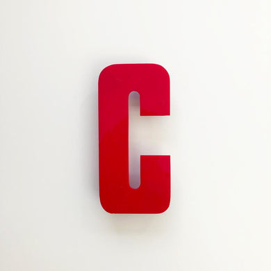 Medium Red Cinema Letters/Numbers Type3