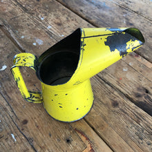 Load image into Gallery viewer, Yellow Vintage Oil Can