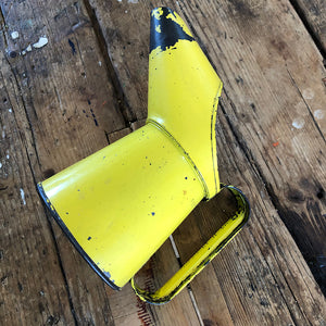 Yellow Vintage Oil Can