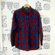 Load image into Gallery viewer, Vintage Pendleton Western Red Check Shirt - Pearl Snaps