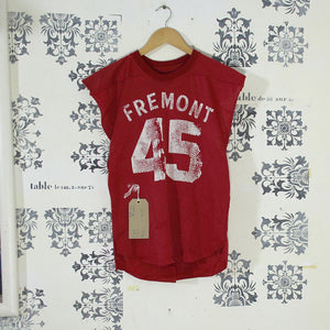 1970s Cut Off Mesh American Football Jersey