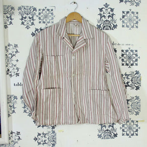Dead Stock 1950s French Summer Chore Jacket