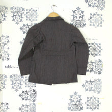 Load image into Gallery viewer, 1930s Salt & Pepper Child's Chore Jacket