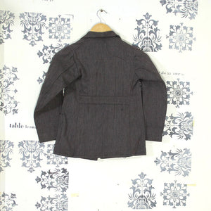 1930s Salt & Pepper Child's Chore Jacket