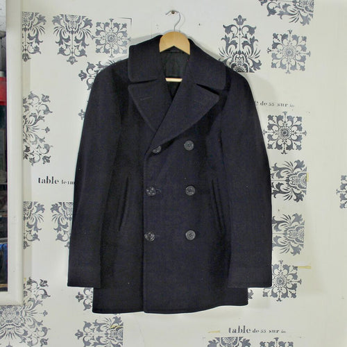 Original WW2 US Navy 8 Button Pea Coat