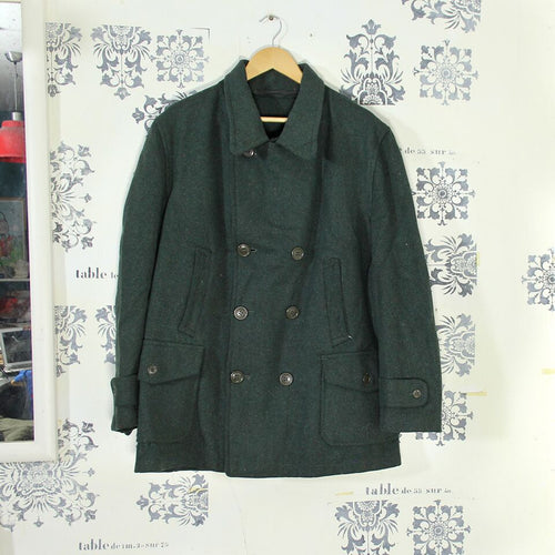 1940s Double Breasted Wool Jacket
