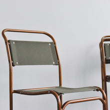 Load image into Gallery viewer, Vintage Kingfisher 1940s Stacking Tubular School Chair