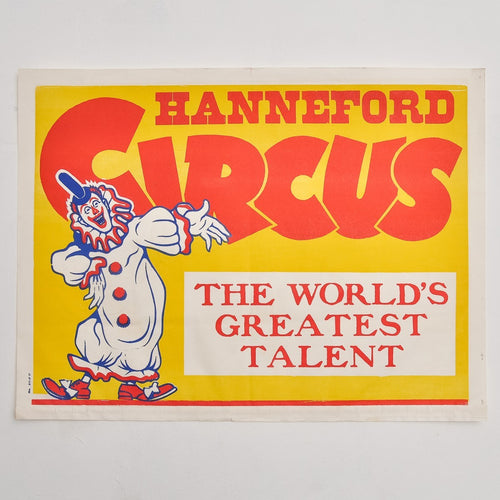 Vintage Circus Poster 5 - Hanneford