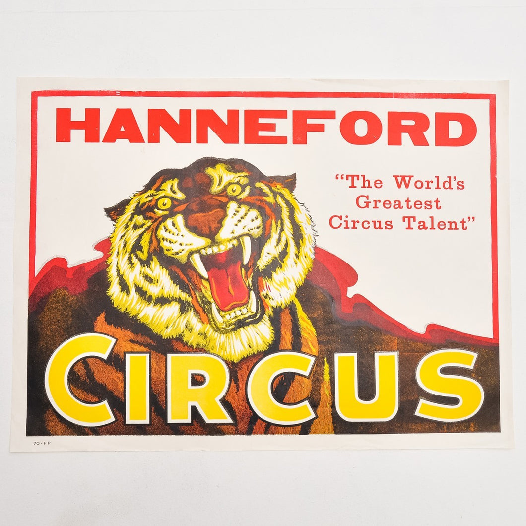 Vintage Circus Poster 7 - Hanneford