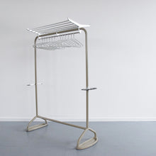 Load image into Gallery viewer, Vintage 1960s Large Freestanding Metal Clothes Rail by R.W. Bamforth & Co.