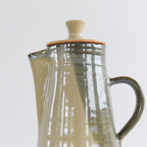 Vintage Ceramic Studio Pottery Stoneware Coffee Pot