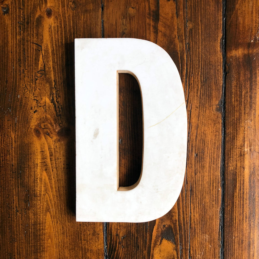 Medium Factory Shop Letter Ply Wood & Perspex