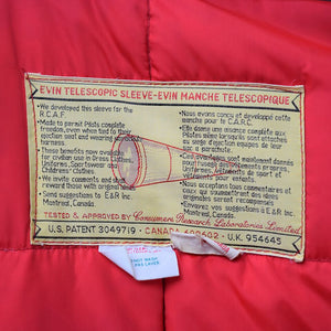Vintage Evin Telescopic Sleeve Canadian Rcaf Coat With Shearling