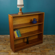 Load image into Gallery viewer, Mid Century Teak Shelving Unit with Fixed Shelves