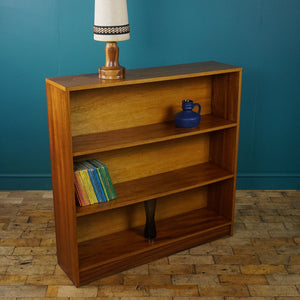 Mid Century Teak Shelving Unit with Fixed Shelves