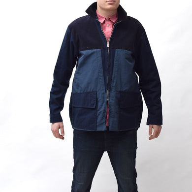 Vintage Two Tone Navy Blue Jacket