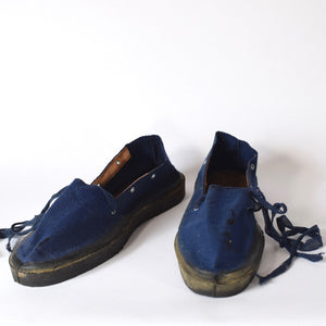 Vintage European Blue Footwear