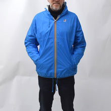 Load image into Gallery viewer, Vintage 1990s Blue K-WAY Wind Breaker
