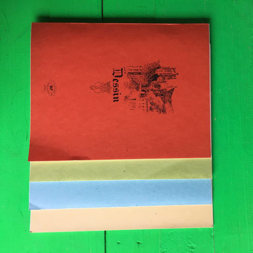 Dessin Note Books (Village Street Design) - Set of 3