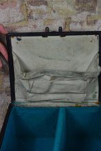 Load image into Gallery viewer, Vintage Leather Medical Doctors Case Bag with Chrome Instruments