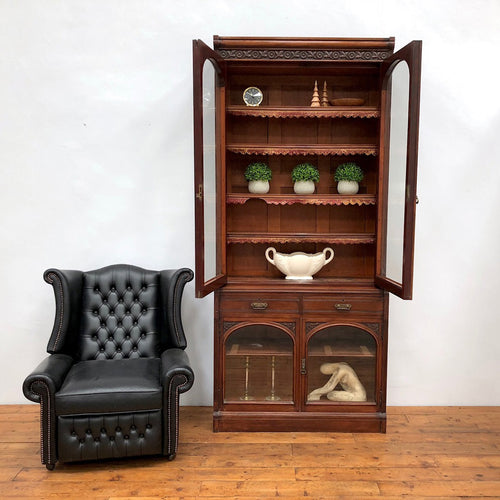 Early 20th Century Country House Mahogany Dresser