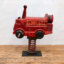 Load image into Gallery viewer, Cast Playground Fire Engine by Wicksteed Leisure