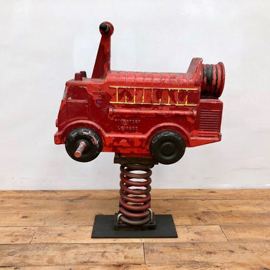 Cast Playground Fire Engine by Wicksteed Leisure