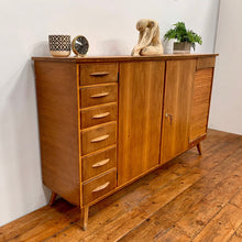 Load image into Gallery viewer, 1950s Solid Teak Sideboard