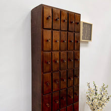 Load image into Gallery viewer, 19th Century Apothecary Drawers in Rosewood