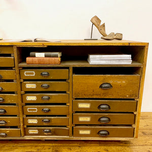 Antique Shoe Shop Counter