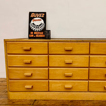 Load image into Gallery viewer, Mid Century Haberdashery Counter / Drawers