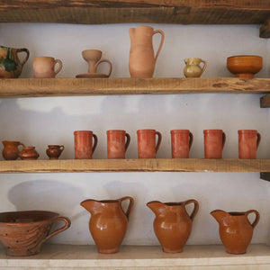 ITALIAN TERRACOTTA WATER JUG-Small