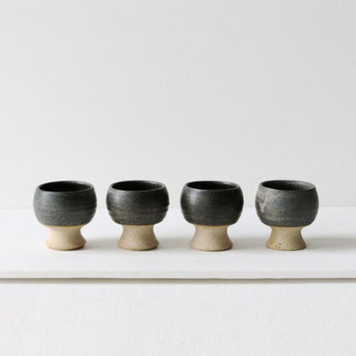 STUDIO POTTERY EGG CUPS