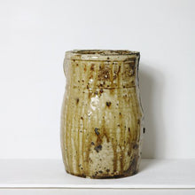 Load image into Gallery viewer, LARGE STONEWARE JAR