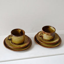 Load image into Gallery viewer, 1960s Suisse Langenthal Cups & Saucers - Set of Two