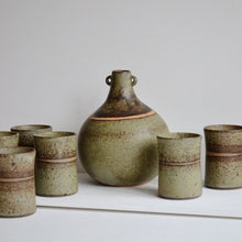 Load image into Gallery viewer, Tony Gant Flagon & Tumblers