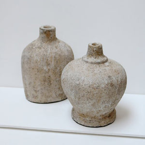 Pair of Textured Vessels