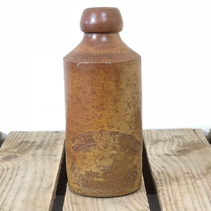 Stoneware Schweppes Ginger Beer Bottle