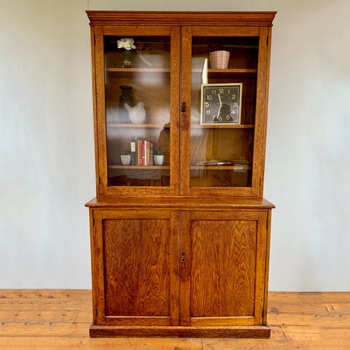 Early 20th Century Science Lab / Old School Bookcase