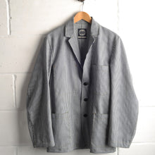 Load image into Gallery viewer, The Engineers Jacket - Ticking Stripe