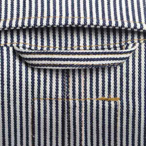 The Engineers Jacket - Ticking Stripe