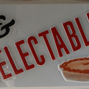 Delectables Advertising Light Box Front