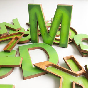 Large Letter Ply and Perspex