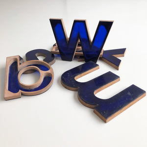 Medium Letter Ply and Perspex