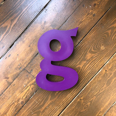G - Large Shop Sign Letter